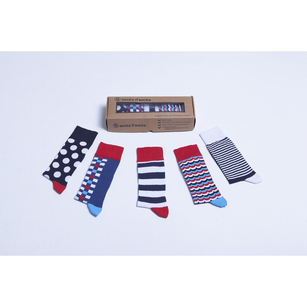 Men's 5-Pair Cool Mix Socks