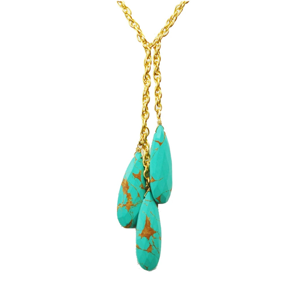 Triple Turquoise Necklace