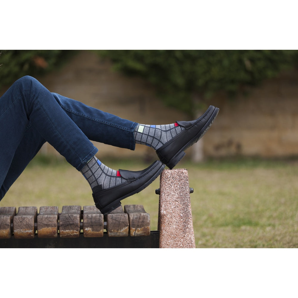 Men's 5-Pair Fun Patterned Socks