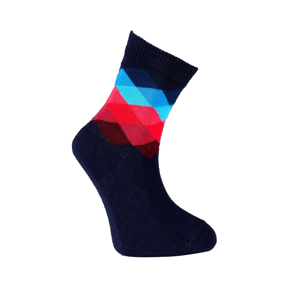 Mix 9028 5-Pair Kid'S Crew Dress Socks