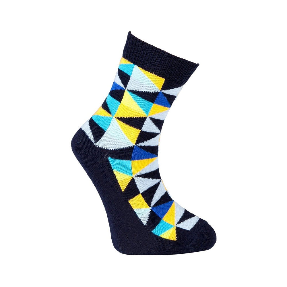 Mix 9037 5-Pair Kid'S Crew Dress Socks