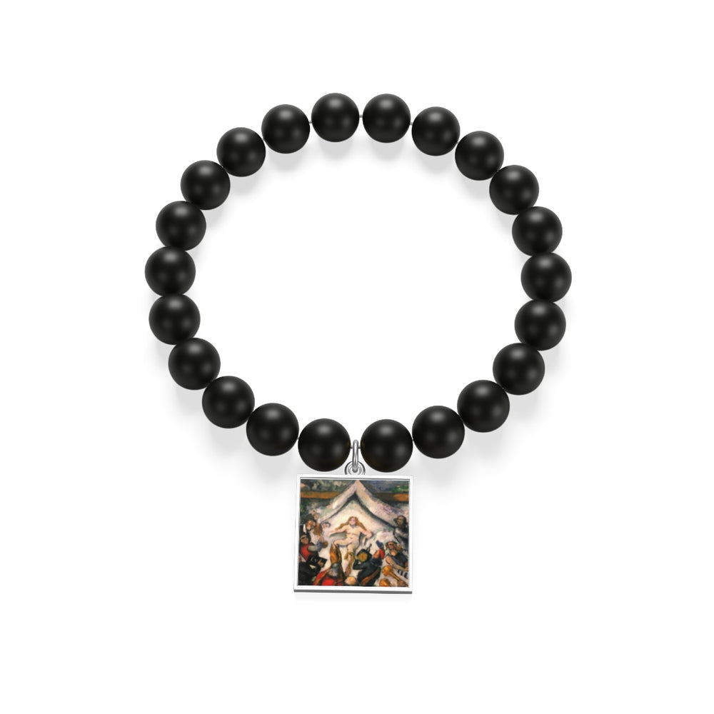 Female by Cezanne Matte Onyx Bracelet