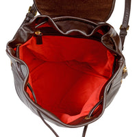 Leah Leather Backpack