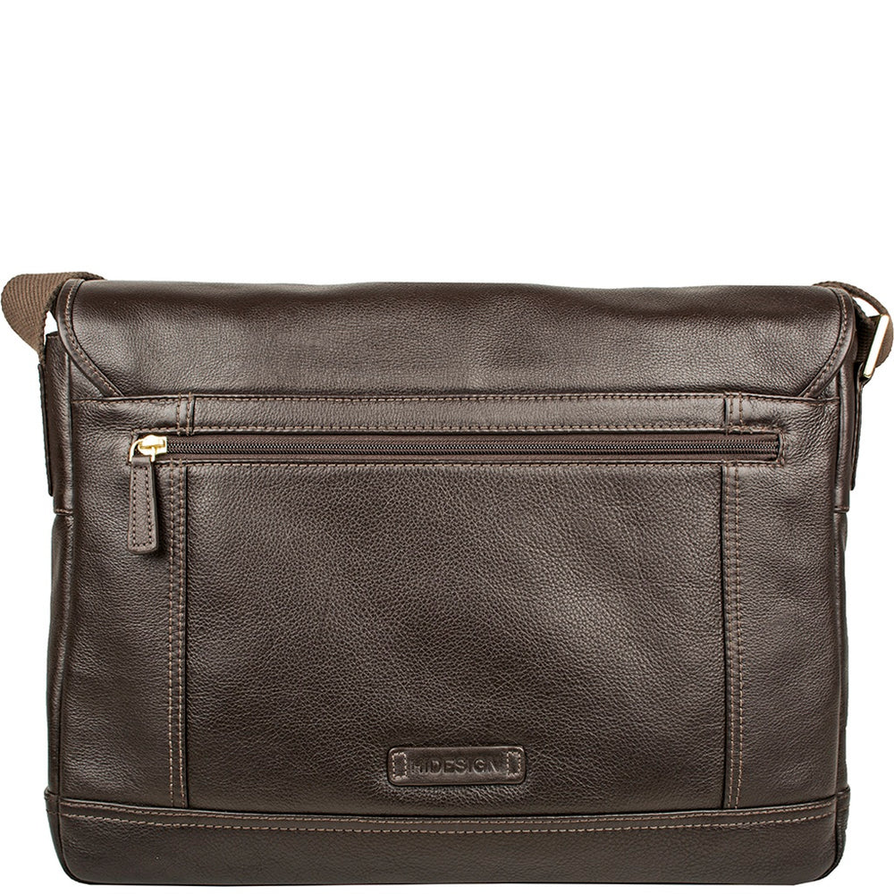 Hunter Leather Messenger