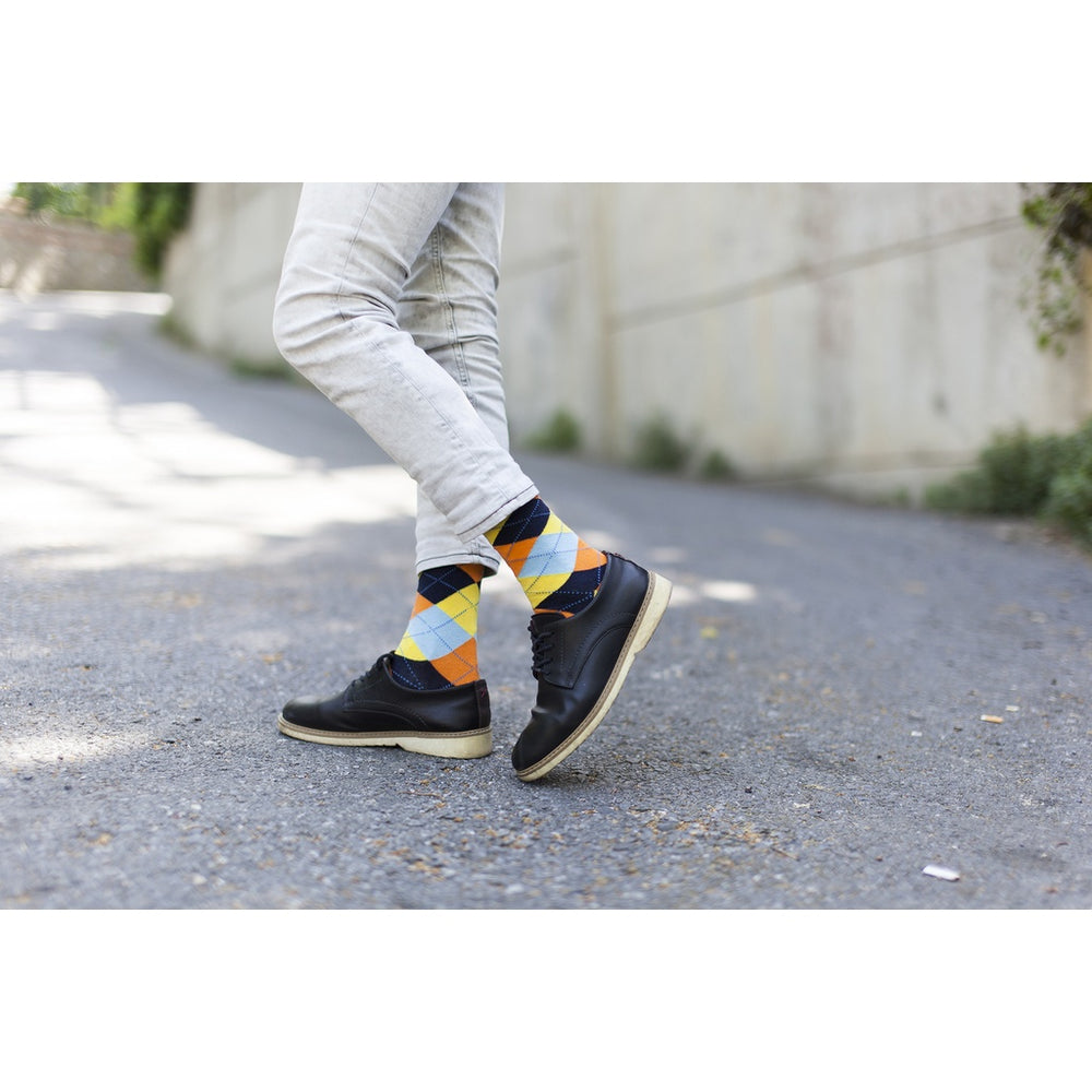 Men's 5-Pair Funky Mix Socks