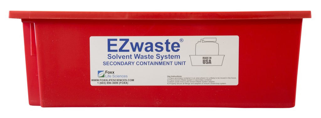 EZwaste Safety Tray Secondary Container, for 1L-10L Carboys, 6/Pack