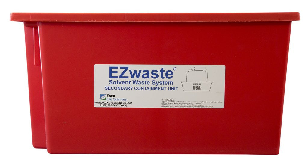 EZwaste Safety Tray Secondary Container, for 10L-20L Carboys