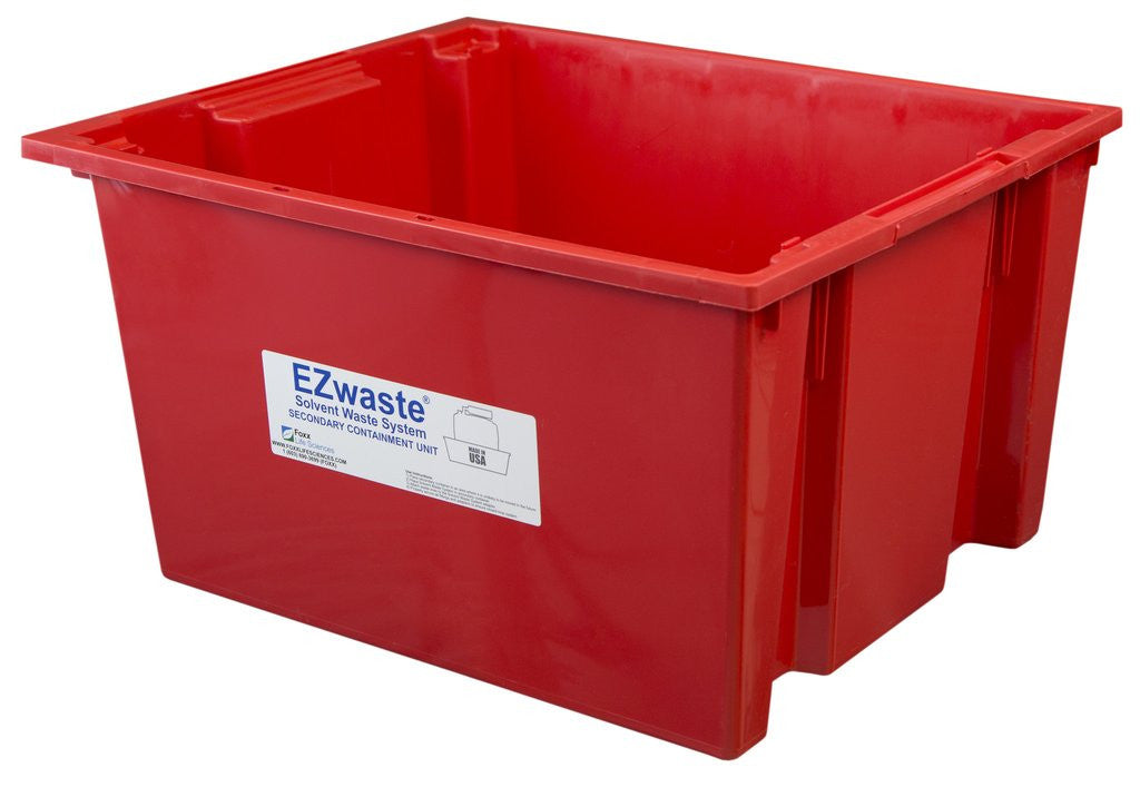 EZwaste Safety Tray Secondary Container, for 40L-60L Carboys