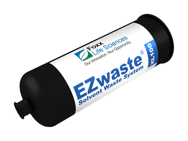 "EZwaste, Filter, Exhaust, Large, 1/4"" NPT Female Port, HDPE, 1 Pack"