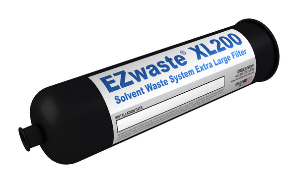 "EZwaste, Filter, Exhaust, X-Large, 1/4"" NPT Female Port, HDPE, 1 Pack"