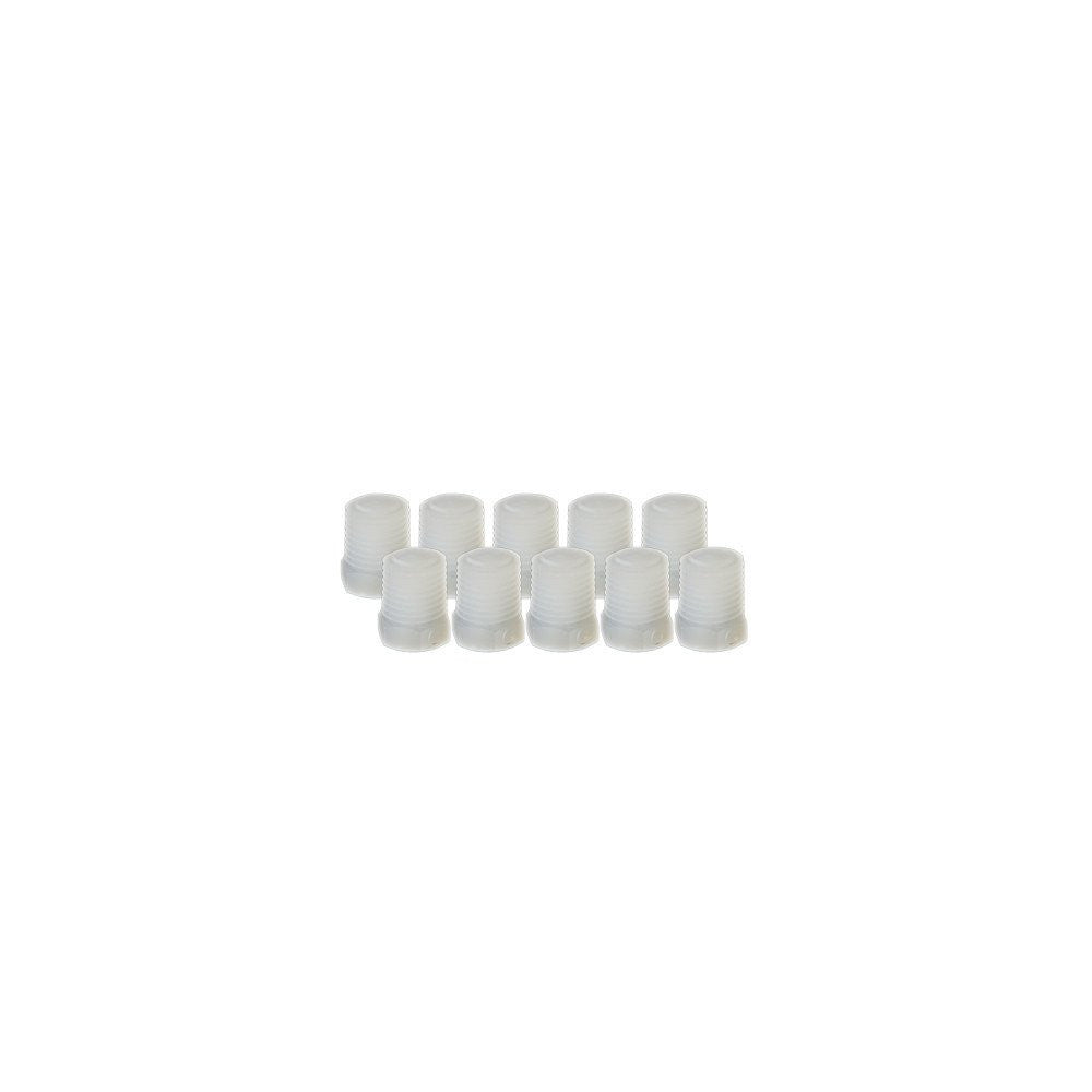 "EZwaste Replacement Fittings, 1/4"" MNPT Filter Plugs, 10 Pack"