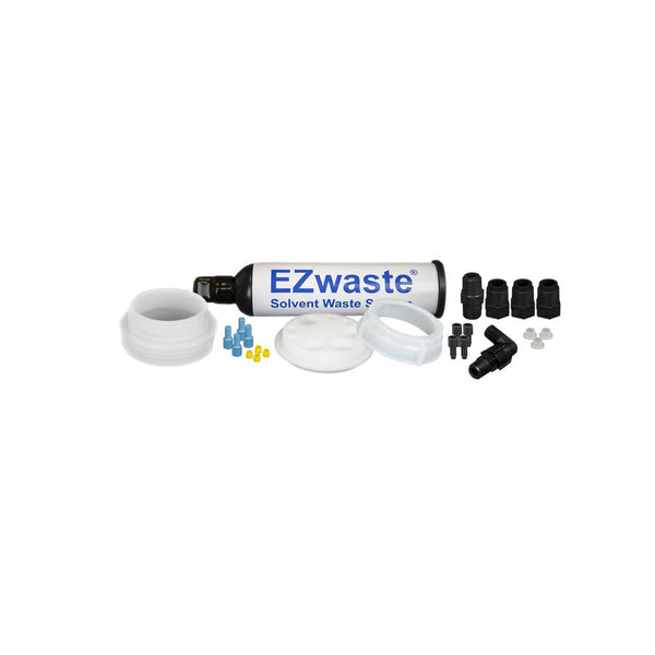 "EZwaste System, UN/DOT, S-70 Cap, 4x 1/8"", 3x 1/4"" OD Tubing, Threaded Adapter & Filter"