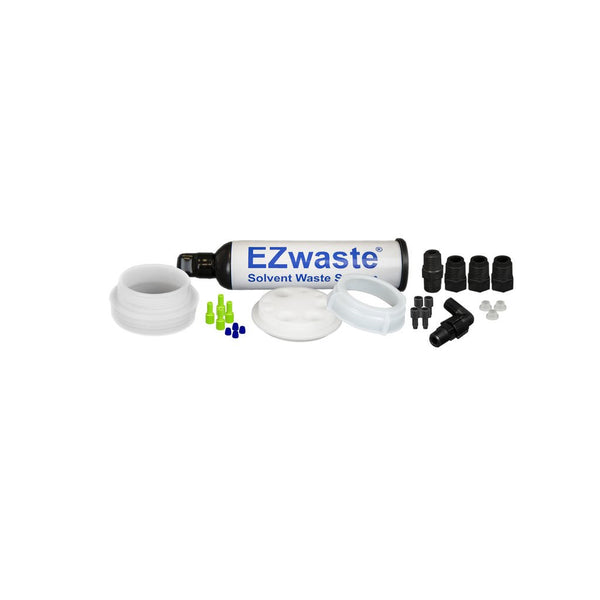 "EZwaste System, UN/DOT, S-70 Cap, 4x 1/16"", 3x 1/4"" OD Tubing, Threaded Adapter & Filter"