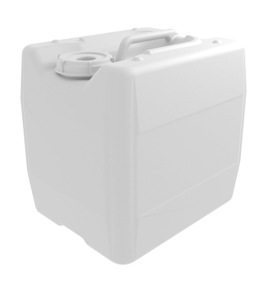 Ezwaste UN/DOT HDPE 13.5L Container w/ Closed Cap, Boxed