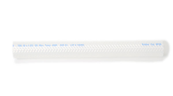 Silicone Braided Hose - 50 Foot Length