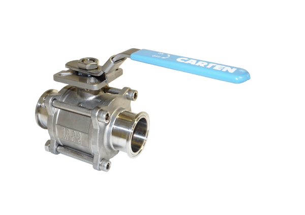 Sanitary Ball Valve (Manual/2-Way/SIP)