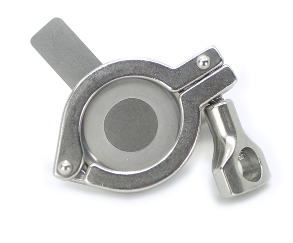 Tabbed Orifice Plate Hinge Clamp
