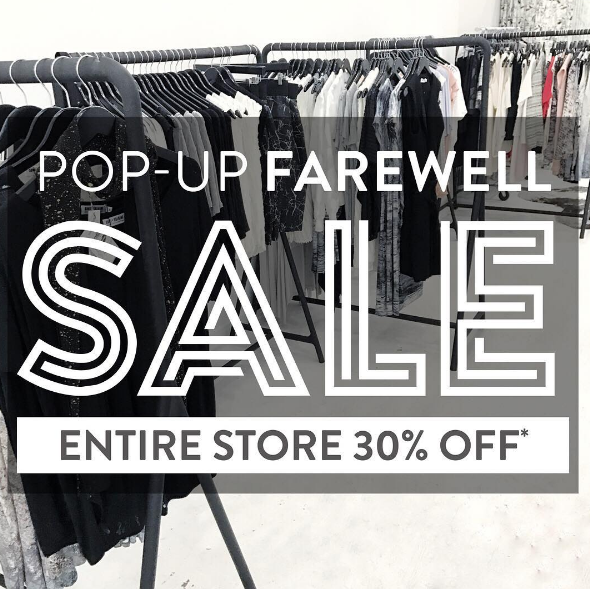 What's Going On: Summer Pop-Up Shop Farewell