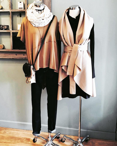 Suki + Solaine at Milk Handmade Chicago Boutique, Women's Ethically Made Clothing Fashion