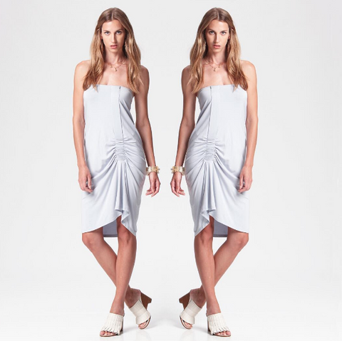 Suki and Solaine Convertible Dress Skirt, made in the USA ethically made women's fashion