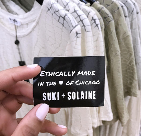 Suki + Solaine making a difference in the fashion industry one day at a time.