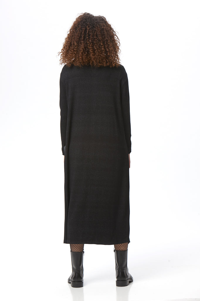Essential Split Side Duster - Flecked Terry