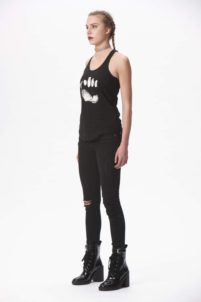 STRENGTH Racerback Tank - Black