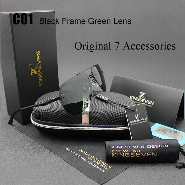 Aluminum Magnesium Polarized Outdoor Sports Sunglass For Men
