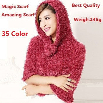 35 Color DIY Multi-function Amazing Magic Scarf
