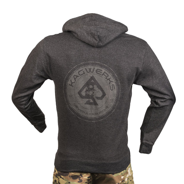 Poker Chip Charcoal Hoodie