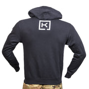 Never A Fair Fight Navy Hoodie
