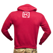 Never A Fair Fight Red Hoodie