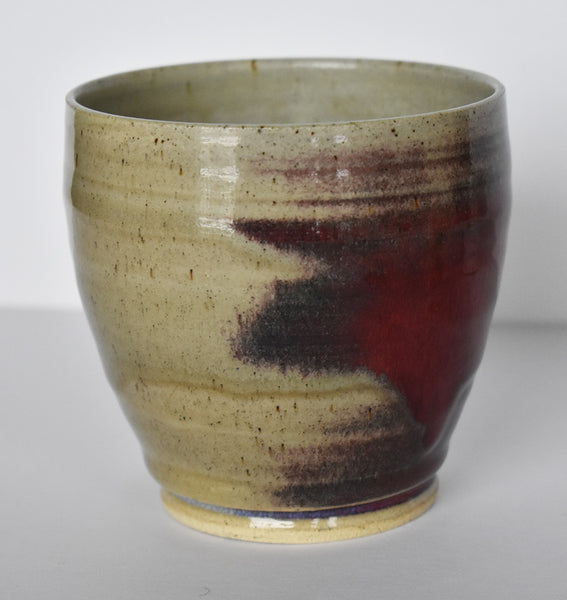 Maple Leaf Canadian artisan made chawan