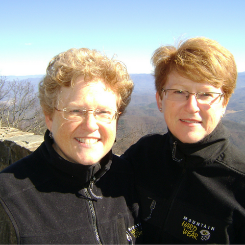Blog Author Heather Kerr and Her Sister