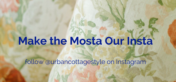 Follow @urbancottagestyle on Instagram