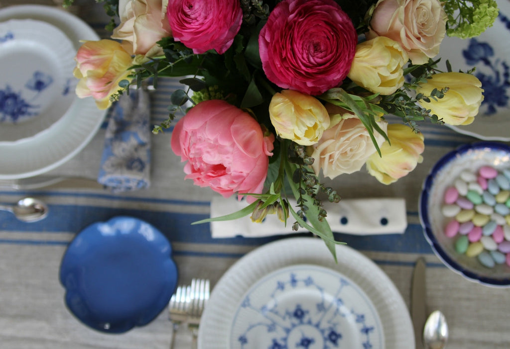 Blue Delft Table Setting