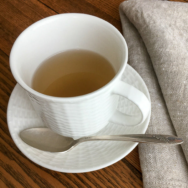 cup of fresh-brewed ginger tea