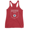 The Bobsled Team - Racerback Tank - Red