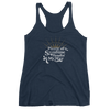 The Sunshine - Racerback Tank - Navy
