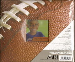 8x8 FOOTBALL Album Photo Memory Scrapbooking MBI Sports Kids School