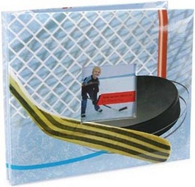 12x12 HOCKEY Album Photo Memory Book Scrapbooking MBI Sports School Kids Crafts