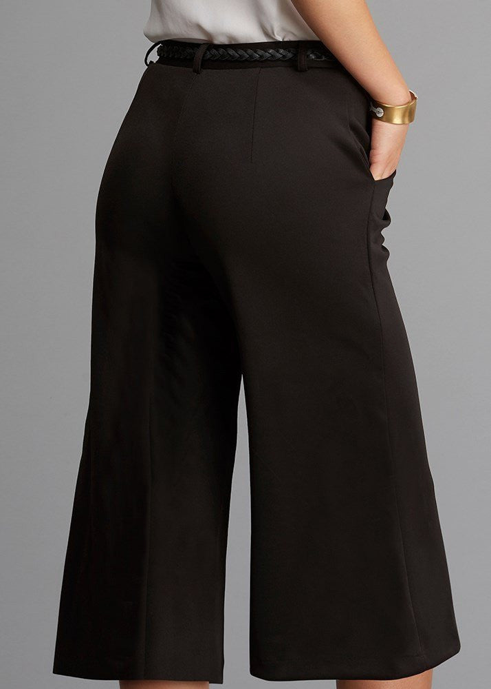 Belted Cropped Pant