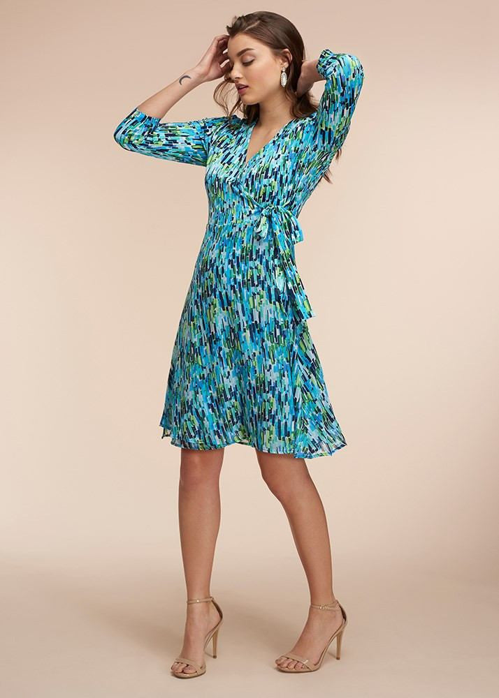 Blue Crush Classic Wrap Dress