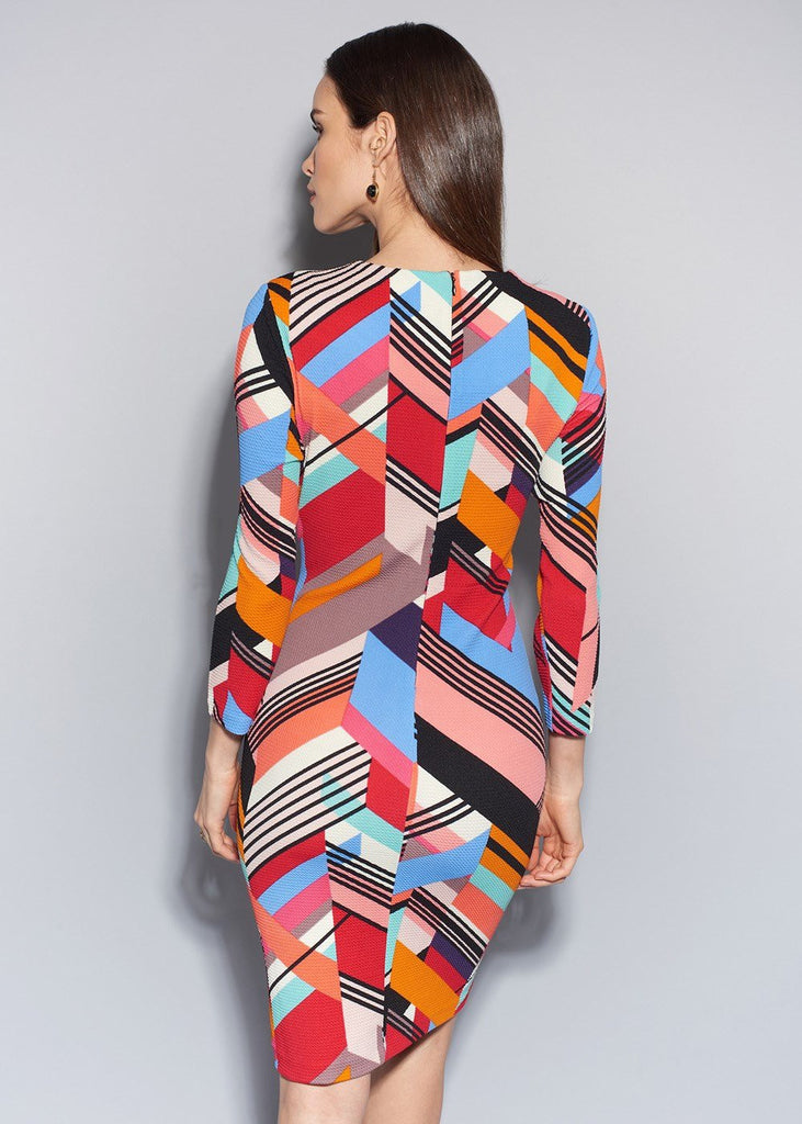 Whitney Printed Pique Dress