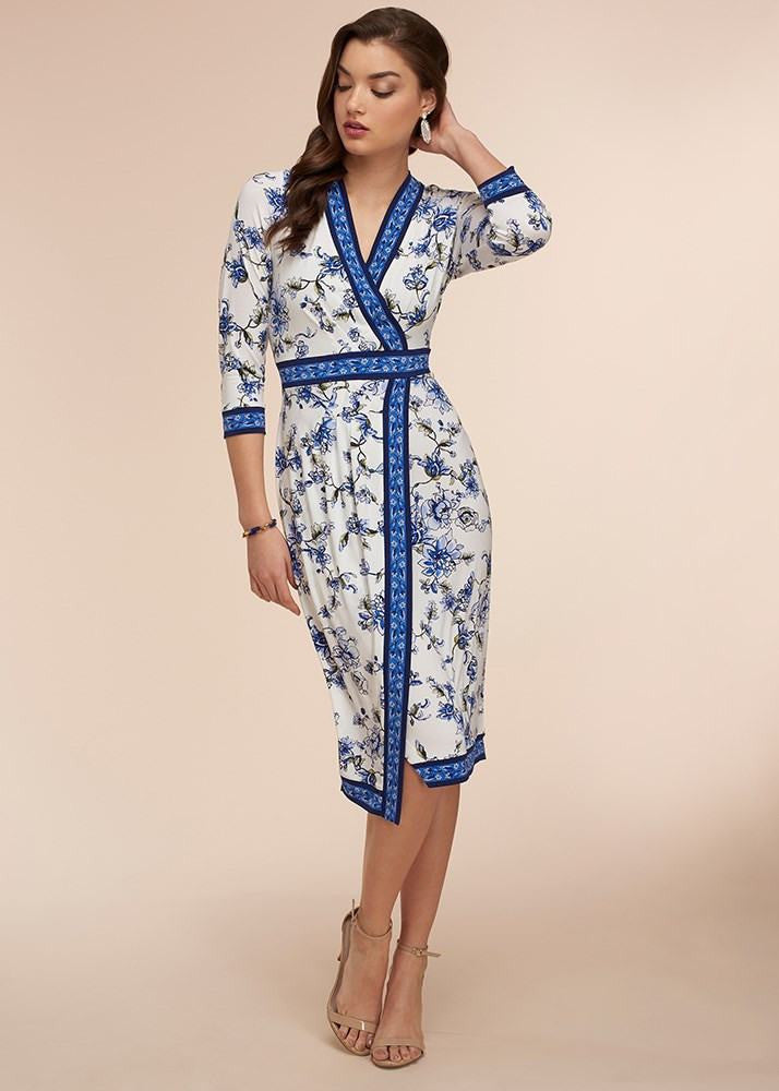Sophisticated Fresh Breeze Wrap Dress