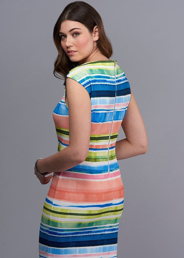 Knot Your Mother`s Striped Dress