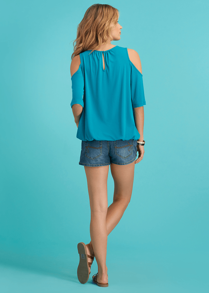 Basic Cold Shoulder Top