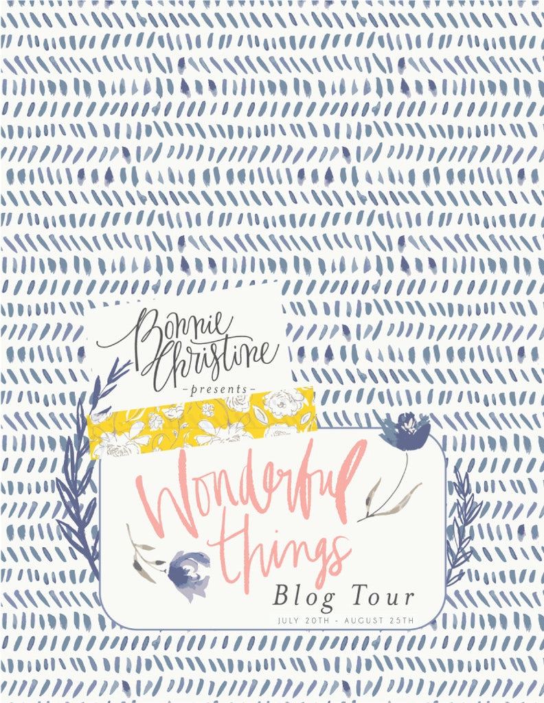 The Wonderful Things Blog Tour