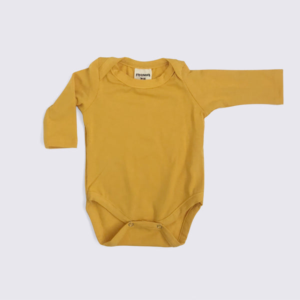 Turmeric Long Sleeve Bodysuit