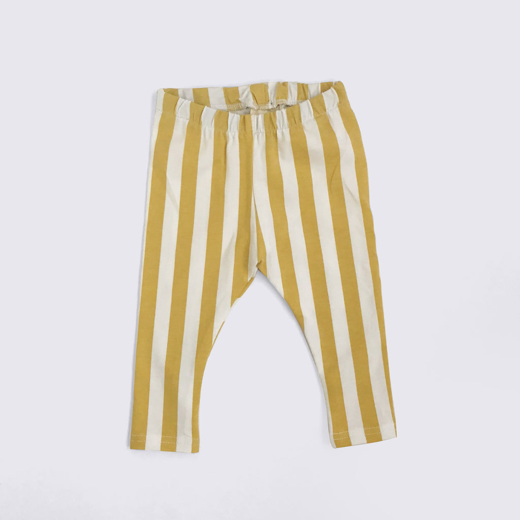 Mustard Stripe Leggings